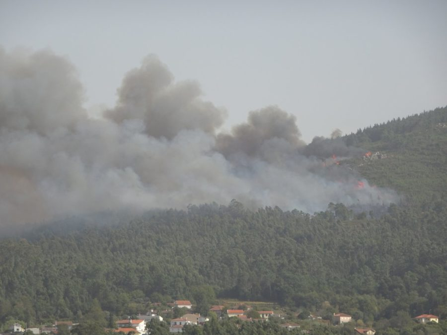 le Portugal en feu