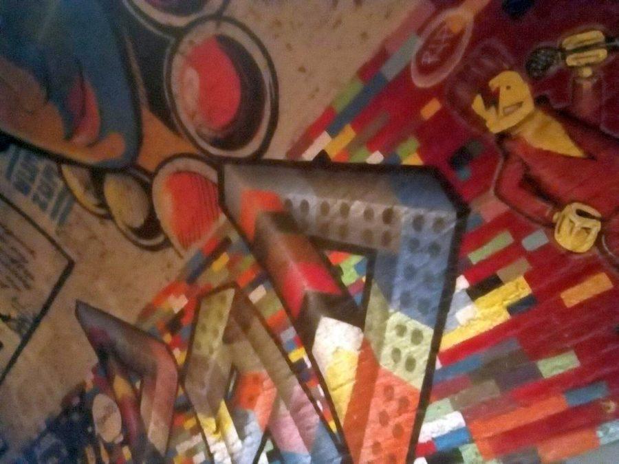graffiti tunnel londres
