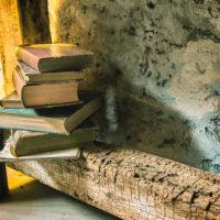 livres et bois