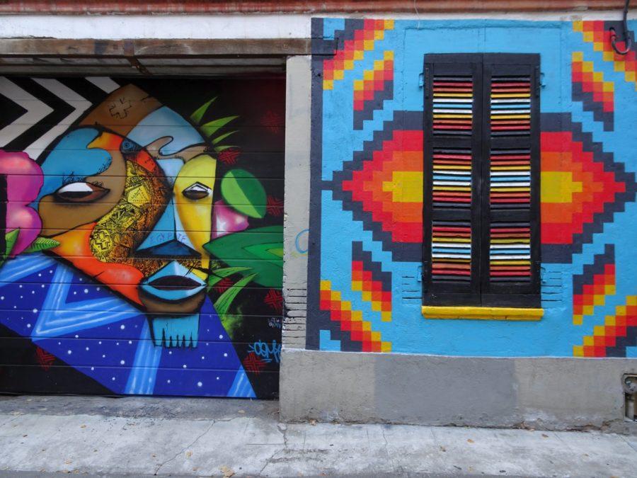 porte colorée à Toulouse