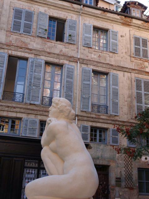 statue à Toulouse